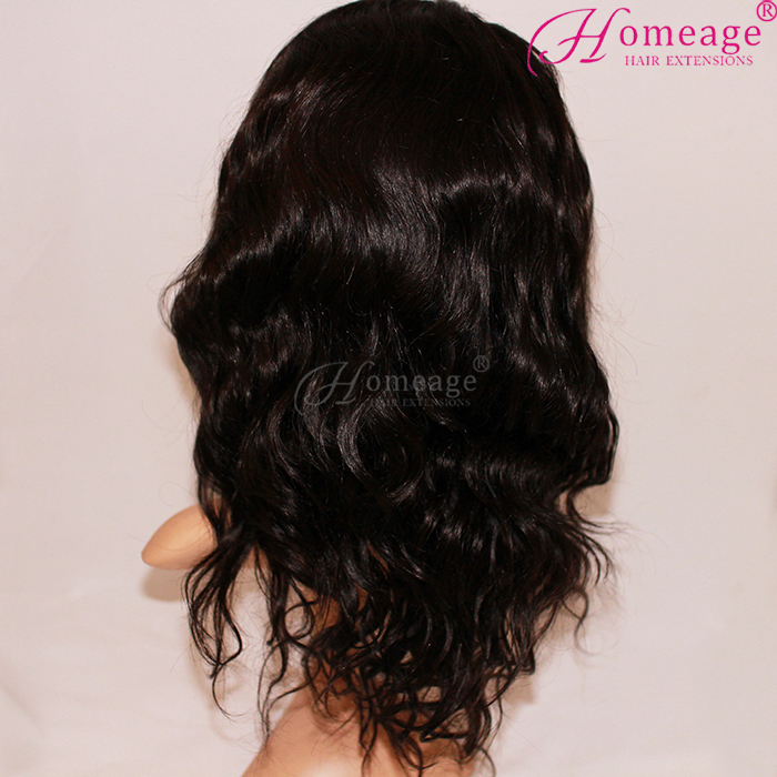 Chinese Gloden Supplier Fast Shipping 100% Brazilian Human Remy Hair front lace Wigs With skin net baby hair
