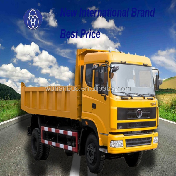New Manual Gear Box 4x2 Dump Truck/Tipper Trailer Trucks Prices For Sale