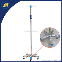 Infusion Support Hospital IV Drip Stand