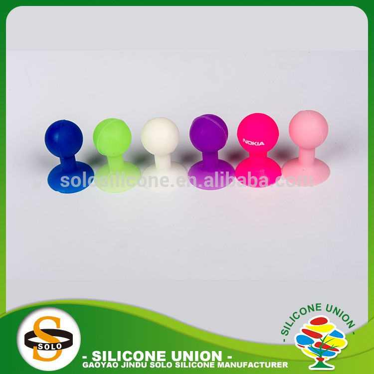 Factory direct sales multiple colour touch u stick silicone mobile holder