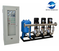 Official Building Automatic VFD Secondary Water Booster Pump System