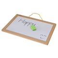 Promotional wood frame magnetic painting board for kids