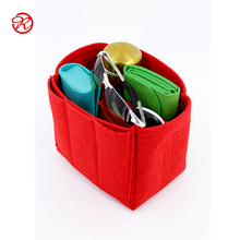 Custom size high quality cable felt car bag insert organizer