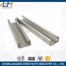 China Manufacturer Durable General Galvanized Steel Slotted Strut C Channels