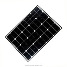 2017 Shine Competitive price mono 12v 90w solar panel with CE certificated