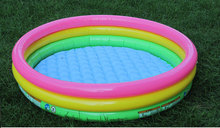 Commercial Cartoon pvc kids inflatable swimming pool