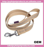 Eco-friendly nylon Material Dog Leash Silver strong Snap Hooks