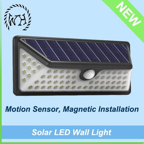 energy wall light solar fence light with bracket fence gutter led light