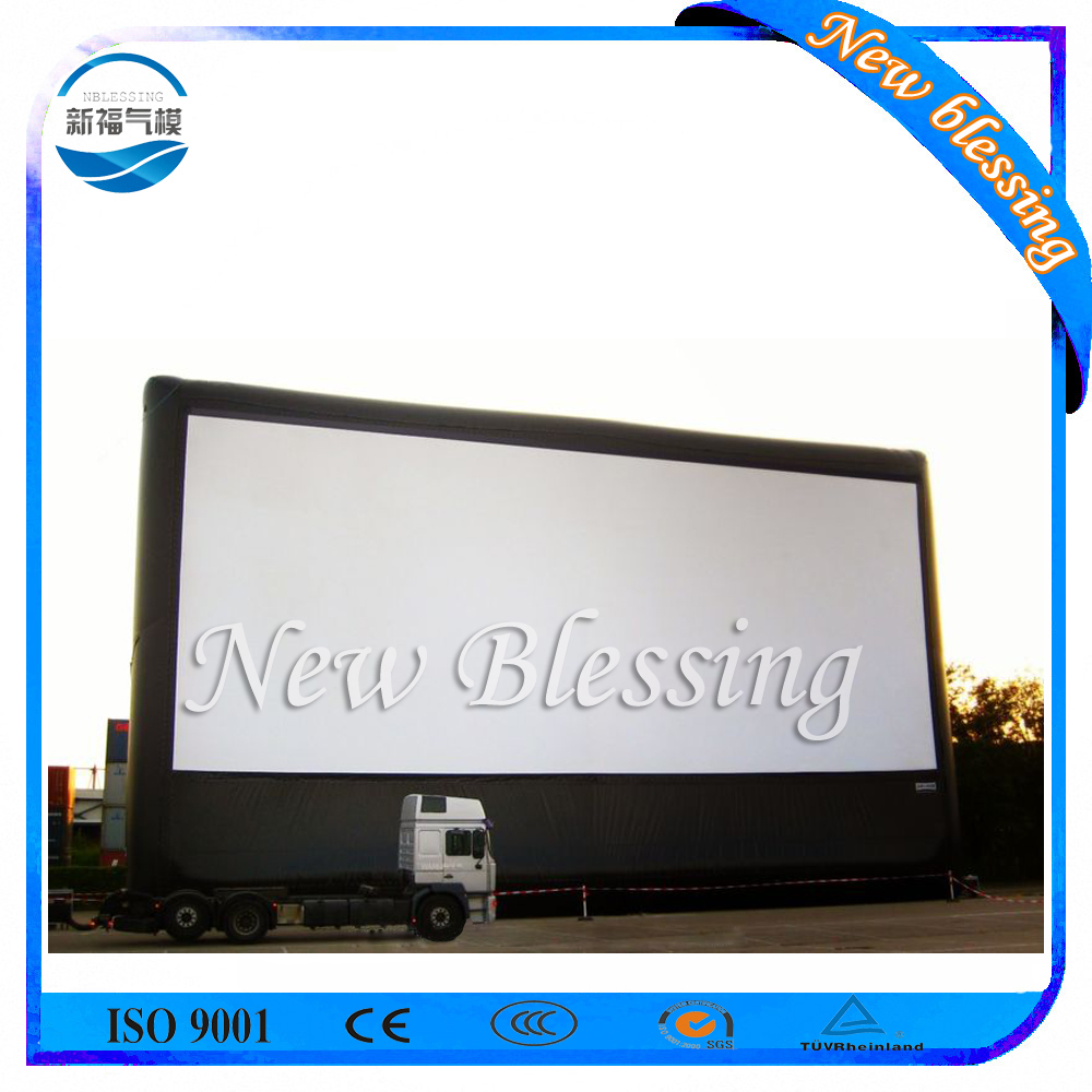 Inflatable Movie screen for projection, inflatable projector screen