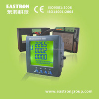 Smart power meter SmartconnectX835, Plug in 3 phase multi function, SGS approved, Modbus RS485+Pulse Output
