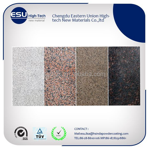 exterior rough natural stone finish texture powder coating paint