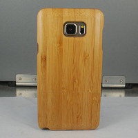 Natural Real Bamboo Wood Wooden Hard Cover Case for Samsung Galaxy Note 5 N9200