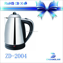 2015 hotel appliance rapid boil portable hot water kettle electric kettle