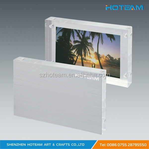 New Style Clear Acrylic Block Photo Frame