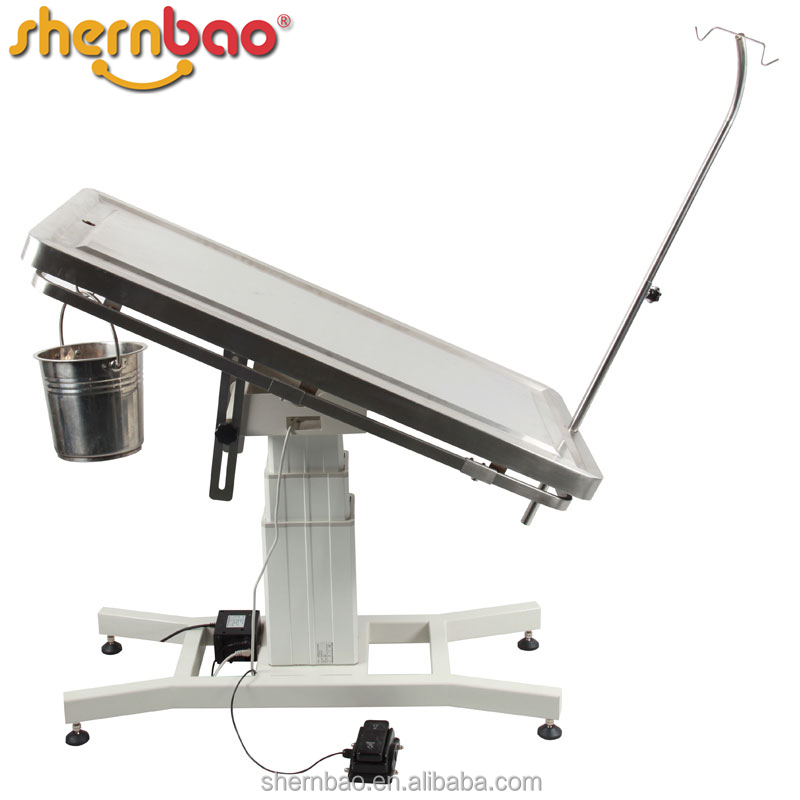 Shernbao FT-838 Stainless Steel Veterinary Preparation Table Pet Supply