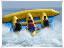 Inflatable flying fish banana boat , flying banana boat for sale, commercial fishing boat for sale