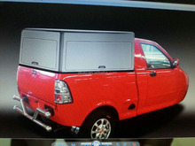 China DOT approved Fulu brand Cheap 600cc van cargo trucks with cabin /3 wheel mini truck