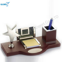 Wholesale High Quality Star Wooden Metal Desktop For Office Gift For Events