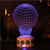 led change colour night light bluetooth speaker 3d table night lamp led small night light