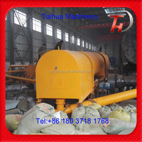Continuous working rice husk/rice shell carbonization making machine