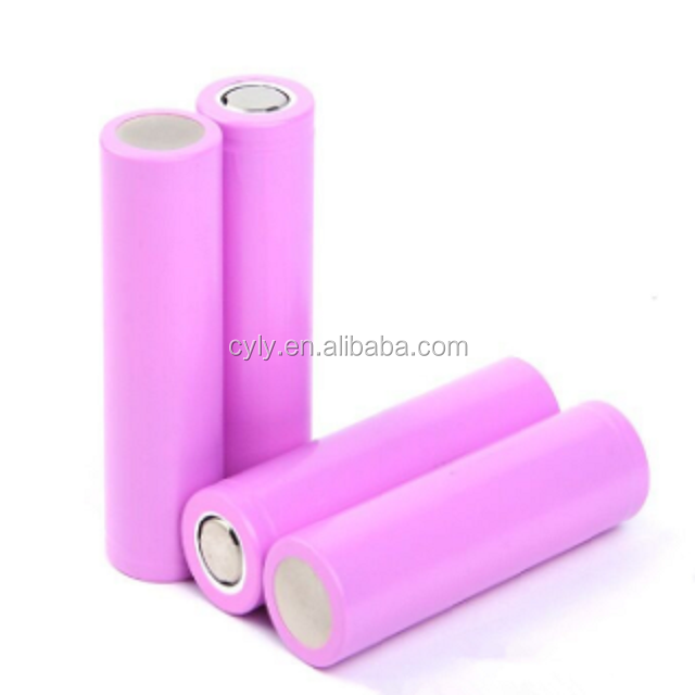 2600mAh 5C 1000 Cycles 3.7V 18650 Li Ion Battery Cell for Electric Bike