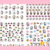 Promotional Hot Sale Nail Sticker Manufacturer