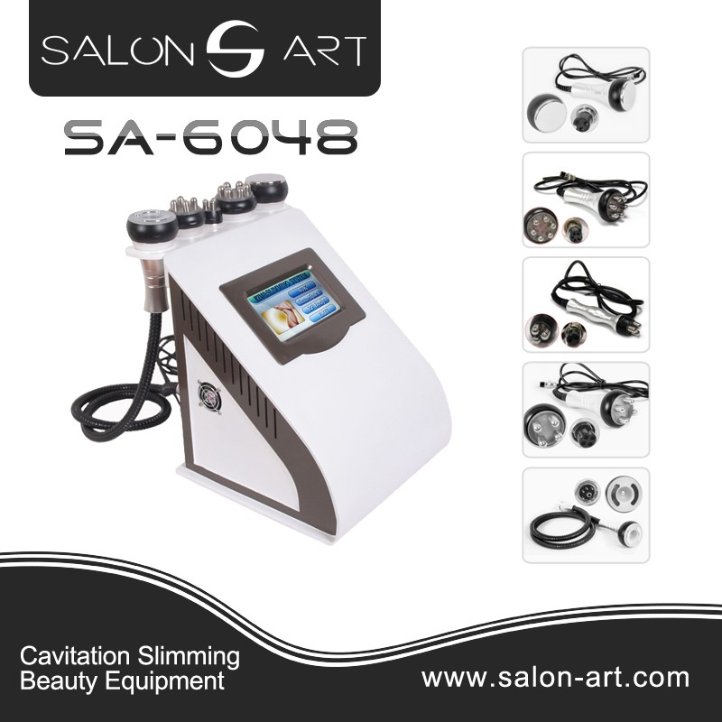 5 in 1 portable beauty slimming machine cavitation vacuum rf SA-6048
