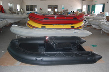 high quality RIB360 rowing inflatable boat rigid hull inflatable boat with ce