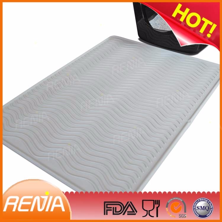 RENJIA dog dinner mat cat mats silicone pet food mat