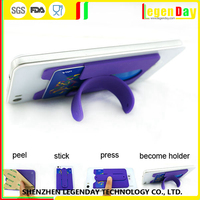 High Quality silicone sticky phone back holder