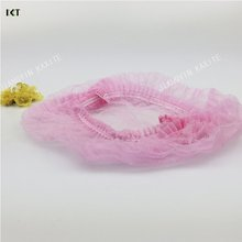 Medical disposable clothing surgical nonwoven spunlace mesh scrub caps hair nets bouffant cap KAXITE