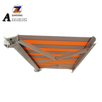 Outdoor Manuel or Motorized Aluminum Folding Arm Retractable Awning
