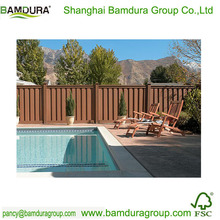 bamboo decorative safety swimming pool fence