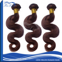 Cheap 8A High Grade Premium Quality Chocolate Brown Hair Color #2 Body Wave Wholesale Virgin Brazilian Human Hair Weaving