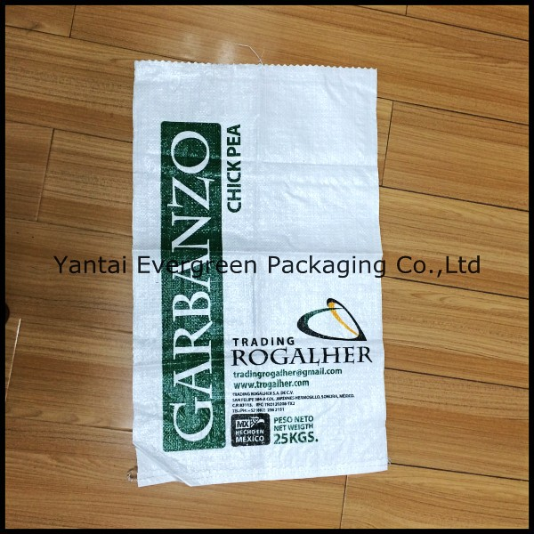 Hot Sale 25kg 50kg Grain Sugar Flour Rice Feed Fertilizer Laminated China PP Woven Bag From China Producer