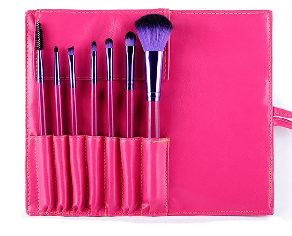 Private Label New Product Makeup Brush 7pcs Hair Brush Set For Makeup