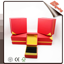 Free sample high quality stocked top and bottom jewelry gift box