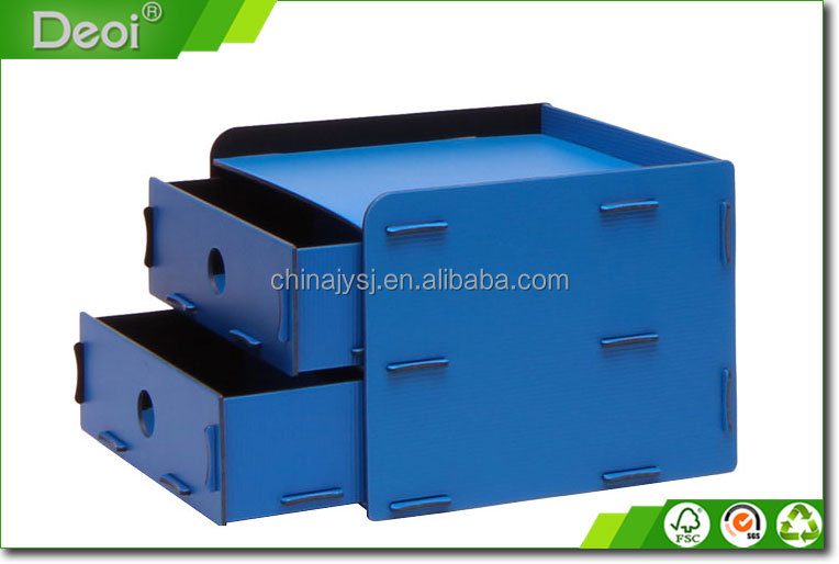 Custom Design 4 Drawer Storage Box Plastic
