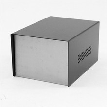 Custom sheet metal aluminum instrument enclosures