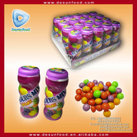 Mentos style Sours Mix fruit chew candy
