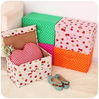 Promotional customizable eco-friendly wholesale doll storage boxes