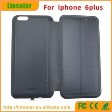external solar battery charger 4200mAh power bank case for iphone 6 plus mobile smart phone rechargeable