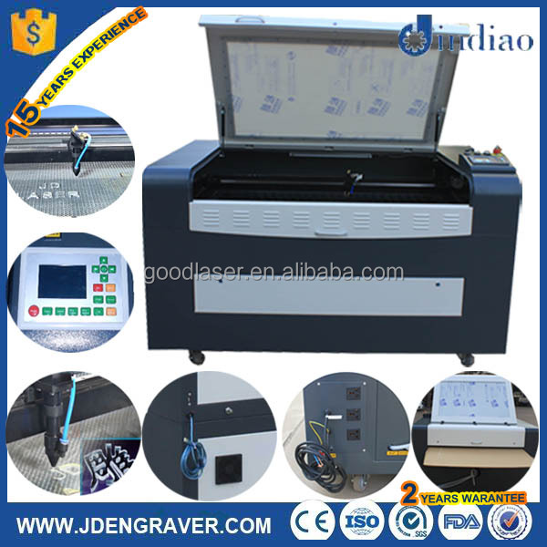 2016 China hot sale cheap price CO2 maquina de corte laser para madera