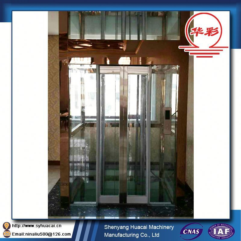 HC-320 China Manufacturer Affordable fair ISO glass cleaning selcom elevator door