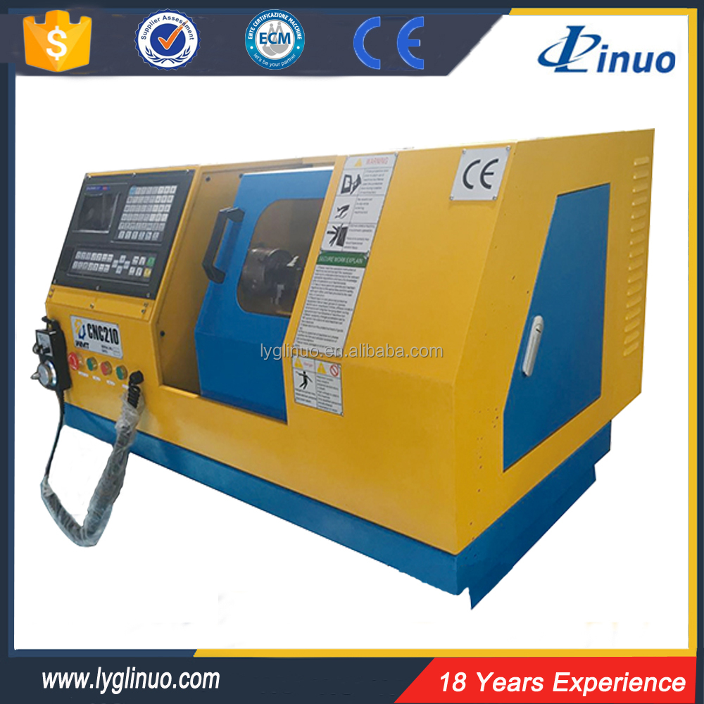 Computerized centre automatic 210CNC mini cnc lathe