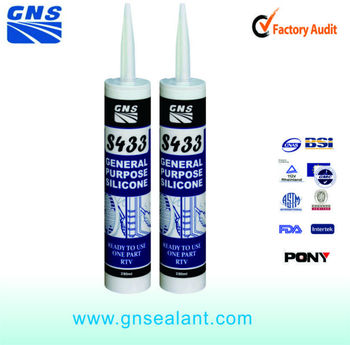 rosary transparent liquid silicone tank sealant