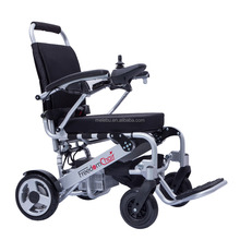 Aluminum brushless motor Portable folding mini power wheelchair prices with lithium battery for diabled people