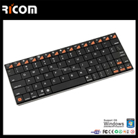 wireless bluetooth keyboard case for galaxy note 8,bluetooth keyboard with touchpad for ipad/iphone