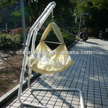 Baby cotton hammock with steel stand
