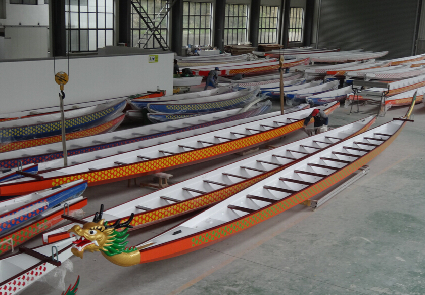 FRP Dragon boat with IDBF tested